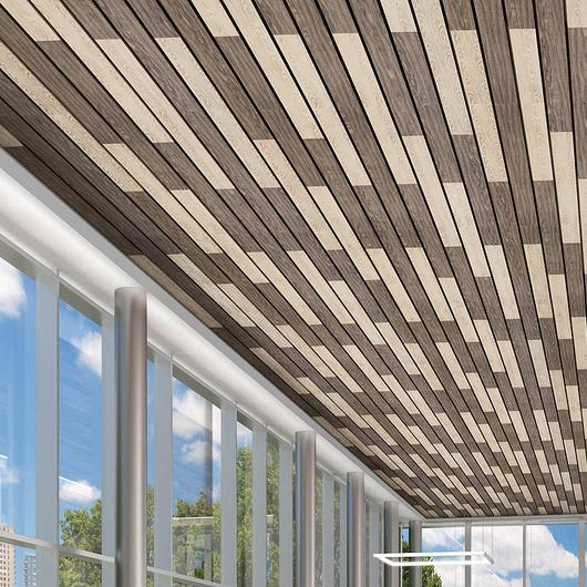 MetalWorks™ Linear Sistema de Plafón