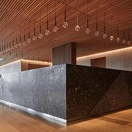 Slated Timber Ceiling in EQT Corporate Headquarters