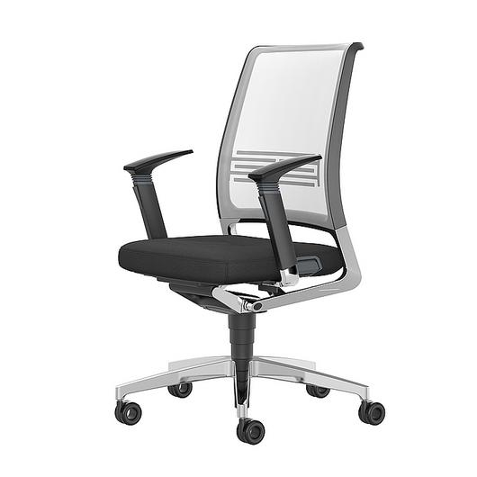 Conference Chair - Medium With Wheels / Interstuhl