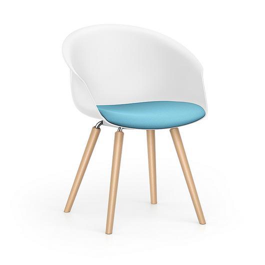 Lounge Chair - SHUFFLEis1 4 Legs / Interstuhl