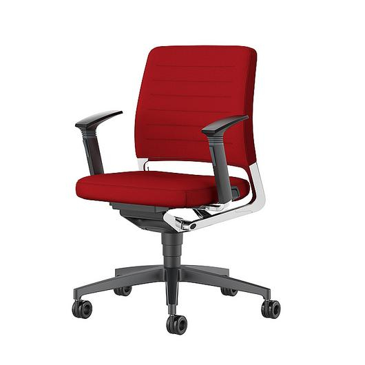 Conference Chair - Low With Wheels / Interstuhl
