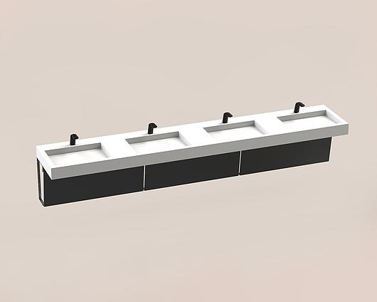 The Splash Lab | Monolith B | 130 1 fitting