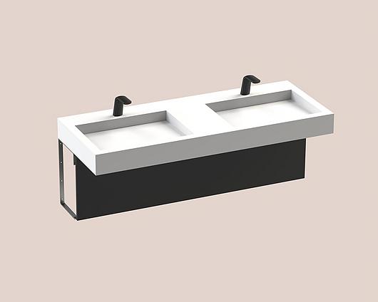 The Splash Lab | Monolith B | 62 1 fitting - square