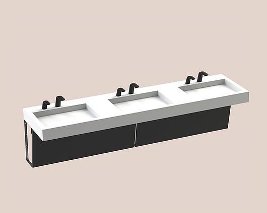 The Splash Lab | Monolith B | 96 2 fittings