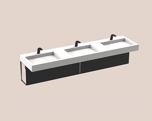 The Splash Lab | Monolith B | 96 1 fitting - square