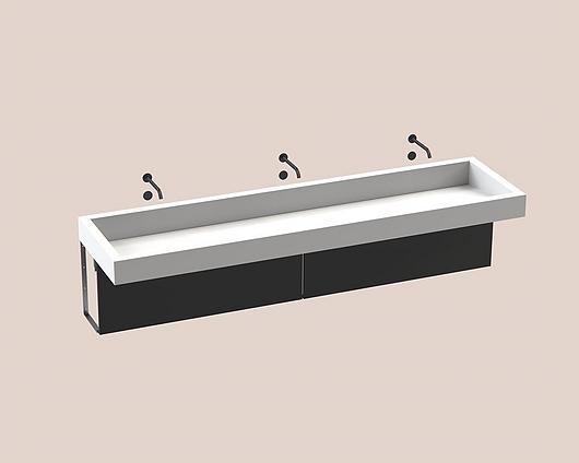 The Splash Lab | Monolith C | 3 User Black