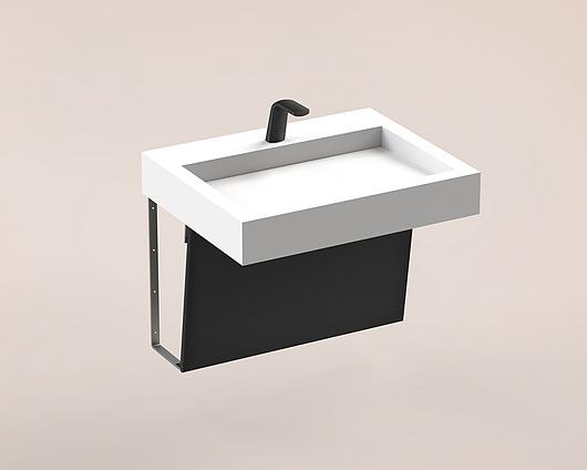 The Splash Lab | Monolith A Series | 1 User 1 Fitting - Black