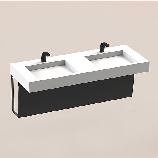 The Splash Lab | Series B | 62 - Black Pipeskirt