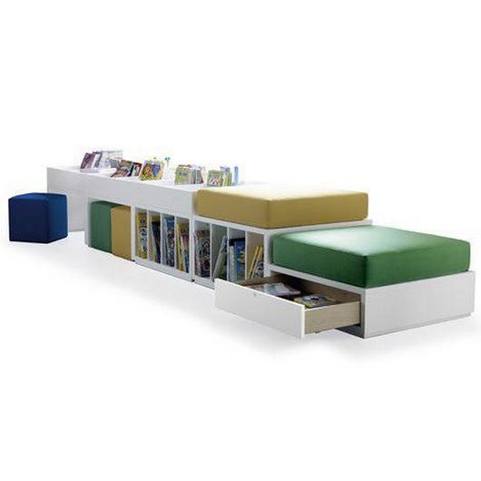 Modular Furniture - Jakin Seating and Storage / Sellex