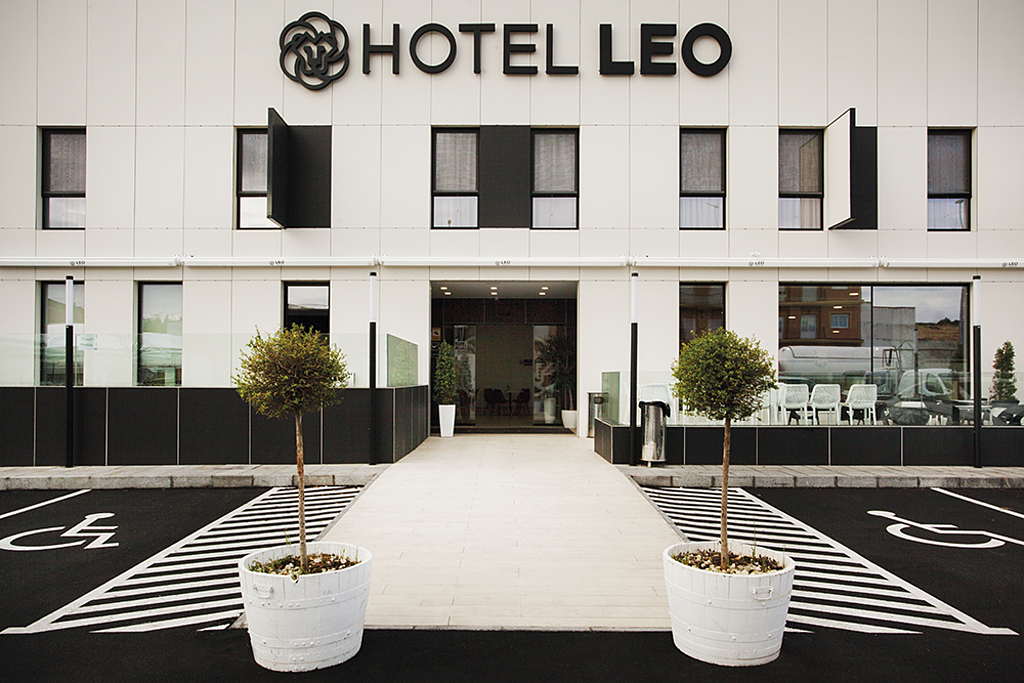 Coverlam in Hotel Leo