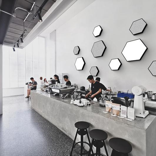 Wall Surface Lights - Hex Area