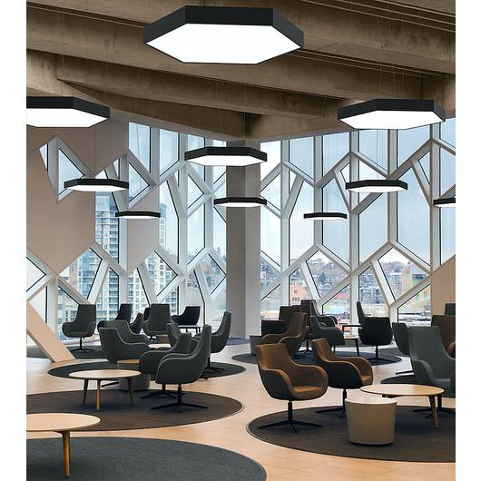 Suspended Lights - Hex Area