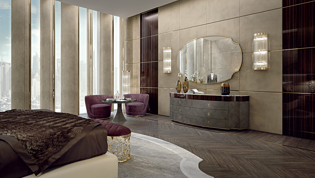 Interior Furnishing in New York Penthouse