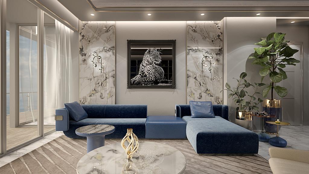 Interior Furnishing in Miami Beach Apartment