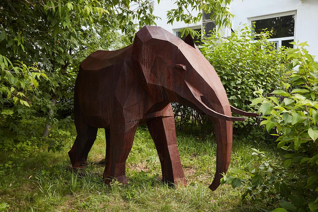 Sculptures Cor-ten