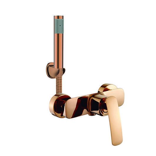 Monomando ducha receptáculo color dorado - Malmo