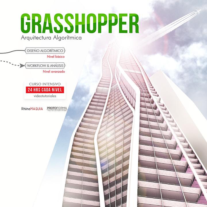 Cursos digitales: Arquitectura Algorítmica - Grasshopper para Rhino