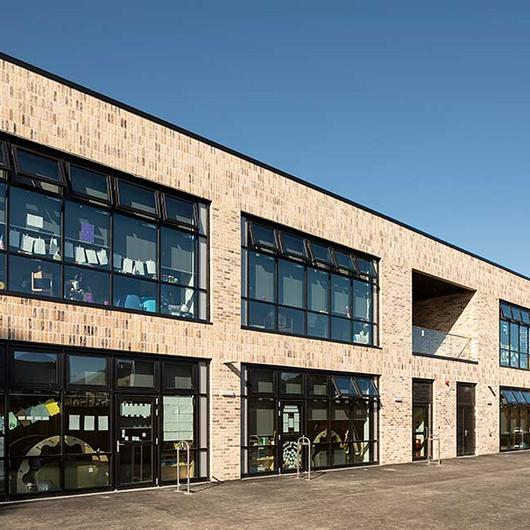 Modular Skylights in Tullibody South Campus / VELUX Commercial