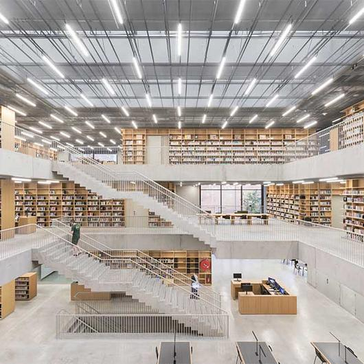 Modular Skylights in Utopia Library / VELUX Commercial
