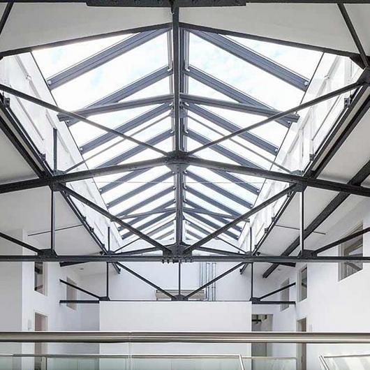 Modular Skylight Ridgelight in Office Building / VELUX Commercial