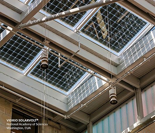 Módulos de vidrio fotovoltaico