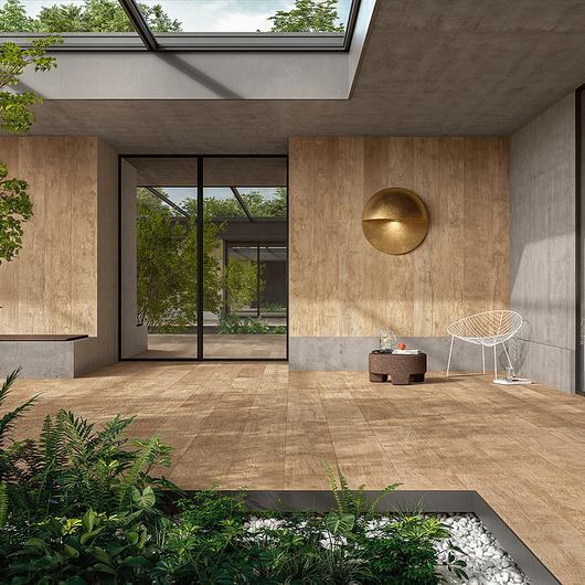Porcelanato efecto madera - Woodland