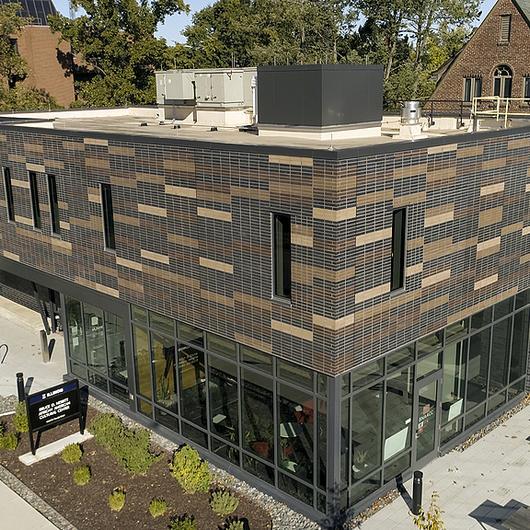 Brick Facade at the Bruce Nesbitt African American Cultural Center