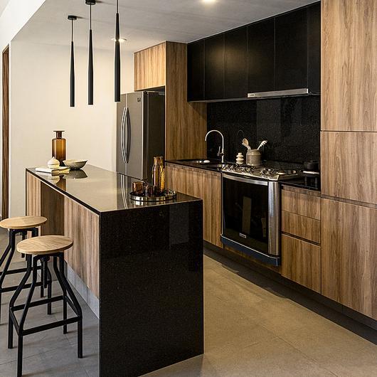Melamina Vesto - Proyecto residencial Brasilia 10 / Arauco