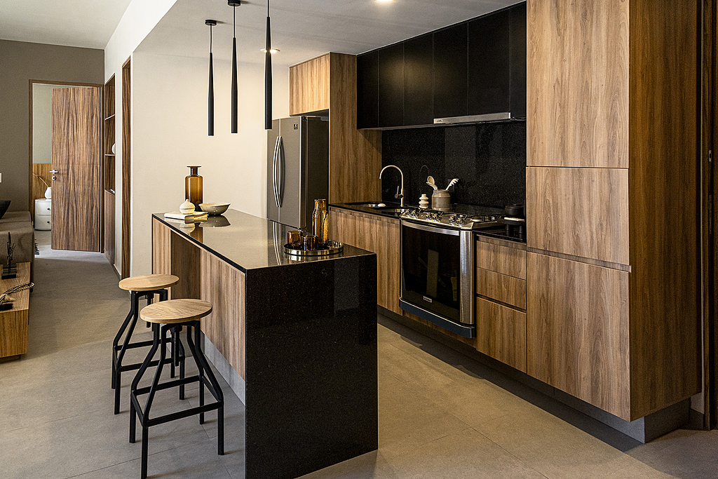 Melamina Vesto - Proyecto residencial Brasilia 10