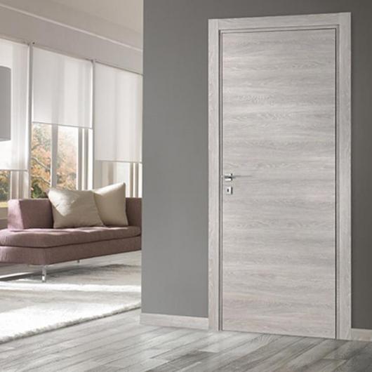 Puerta de paso modelo Feel acabado efecto madera