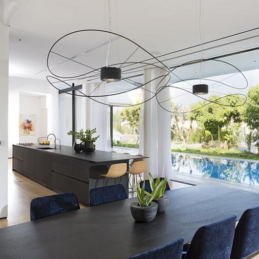 Pendant Lamps in Private Residence