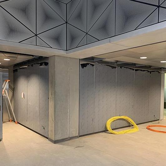 Fire-Rated Panel Fastener at Rennes Metro Stations / Fastmount®