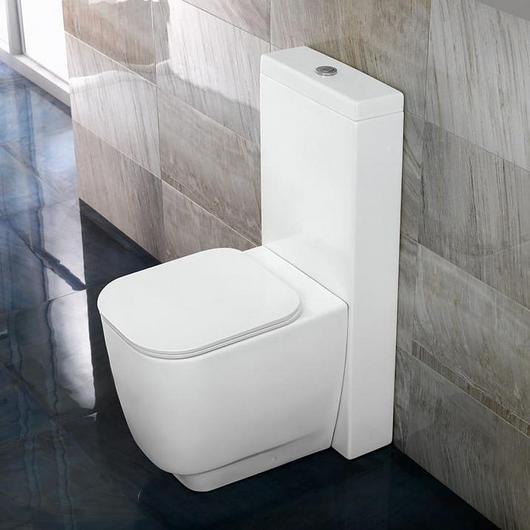 Inodoro a piso con cisterna externa - Daytime Evo
