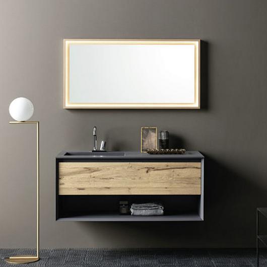 Mueble de baño suspendido - Materia 07