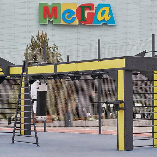 Punto Fit in Ekaterinburg Public Space / Punto Design
