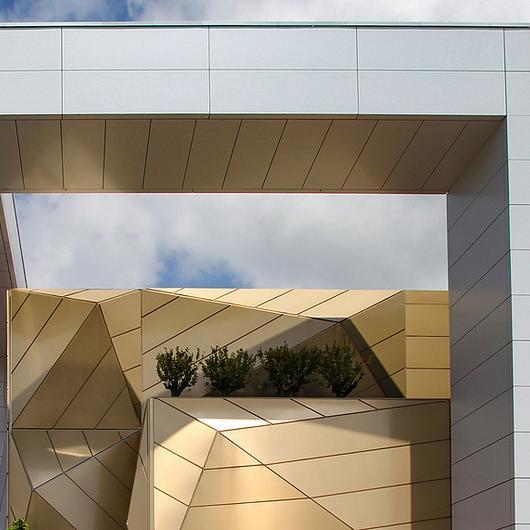 Panel de aluminio compuesto Stacbond® - Colores metálicos / Metaldesign