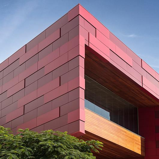 Panel de aluminio compuesto Stacbond® - Colores sólidos / Metaldesign
