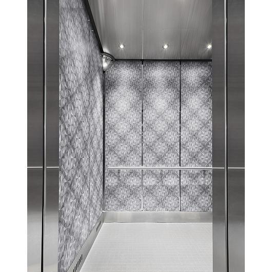Custom Elevator Cladding / Pure + FreeForm