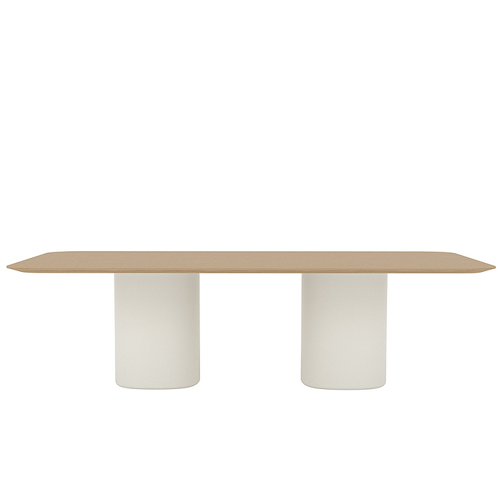 Solid Conference - Conference Table (2/+ bases)