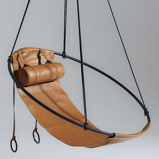 Hanging Chair - Sling Soft Leather