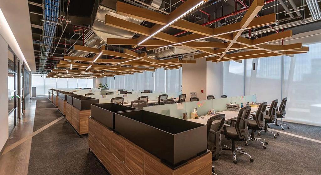 Sistema de iluminación inalámbrico Vive - Oficinas de Sekura