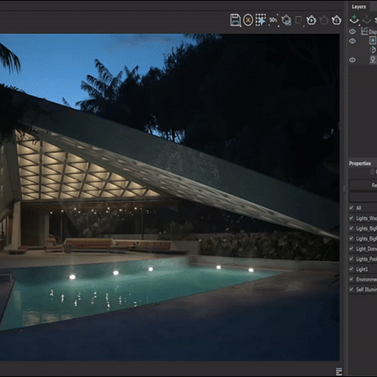 How V-Ray 5's Light Mix can Relight Scenes—Without Re-rendering