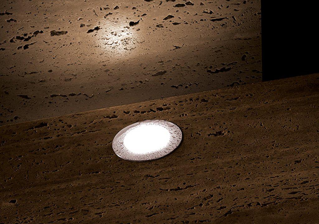 Luminaria empotrada a piso o pared - Zeppelin Tondo Walk Over
