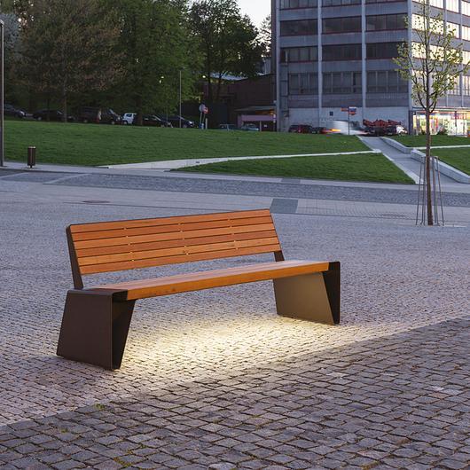Smart Park Bench - Radium Smart / mmcité