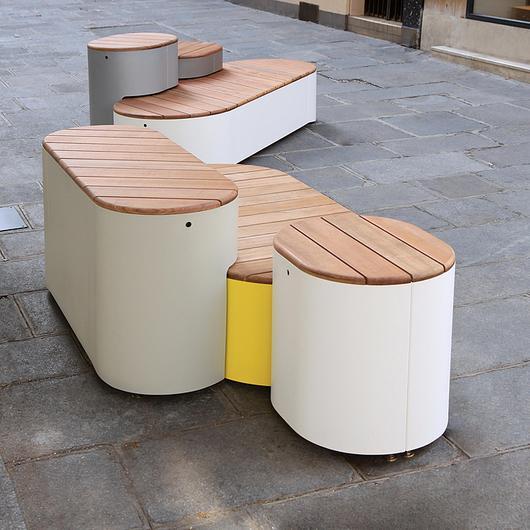 Outdoor Seating - Urban Islands / mmcité