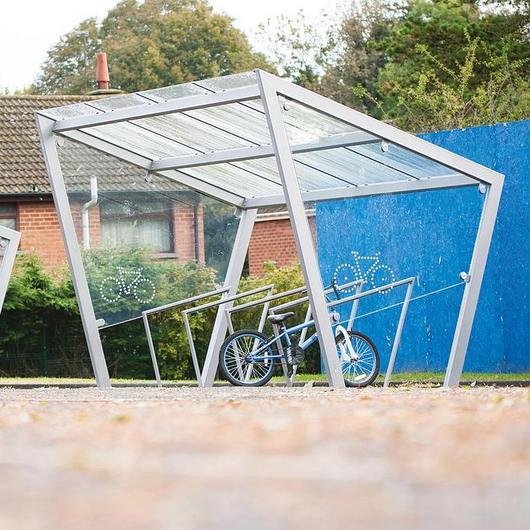 Bicycle Shelter - Edge / mmcité