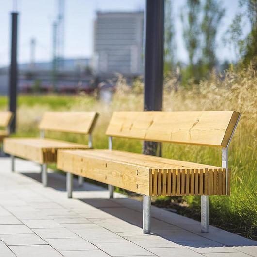 Park Bench - Woody / mmcité