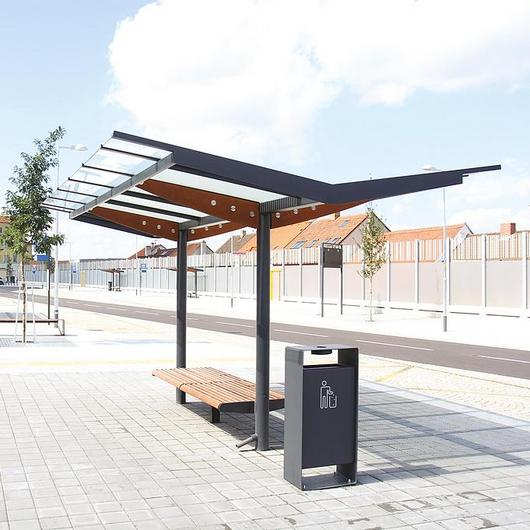 Two-sided Bus Shelter - Regio / mmcité