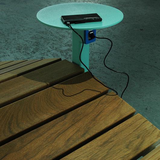 Outdoor Lounger - Rivage Smart / mmcité