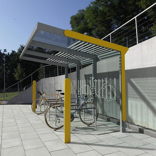 Bicycle Shelter - Aureo Velo / mmcité
